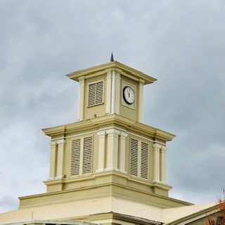 Cupola Historic Yancey County Courthouse  Burnsville NC