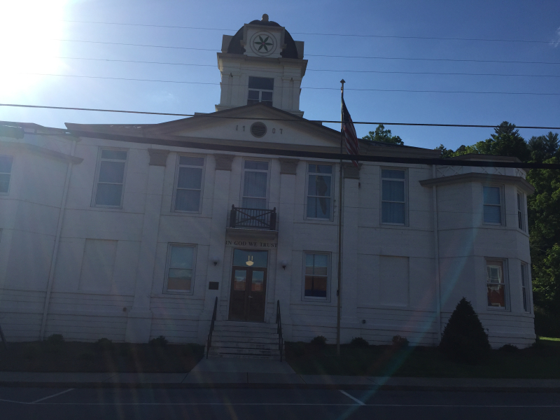 Historic 1907 Mitchell County Courthouse  Bakersville  NC