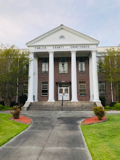 Entryway Pamlico Co. Courthouse Bayboro NC