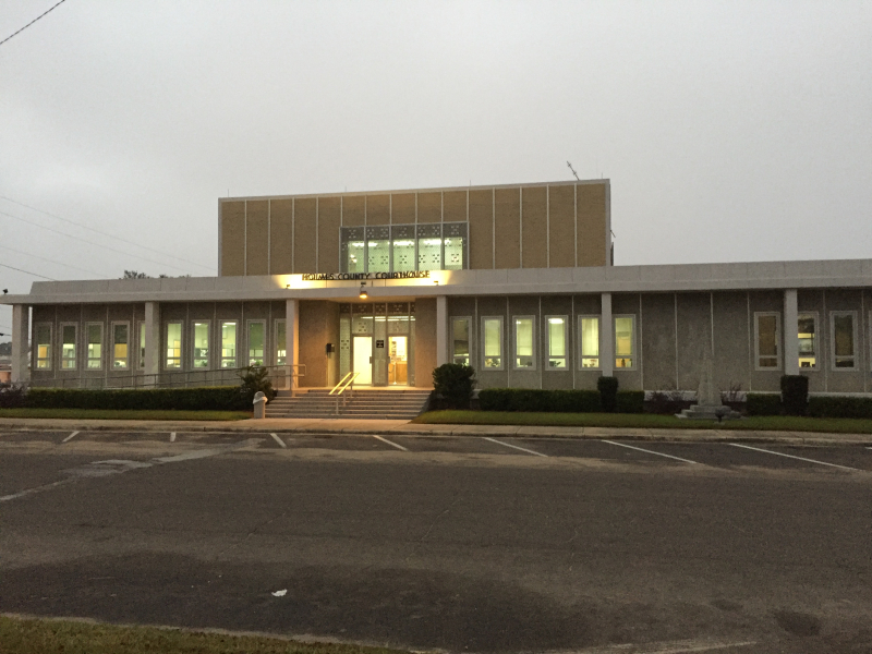 Holmes County Courthouse  Bonifay  FL