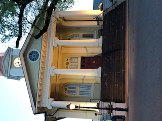 Entryway Historic Fauquier Co. Courthouse  Warrenton VA