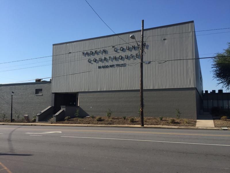 Yadkin Co Courthouse Yadkinville NC