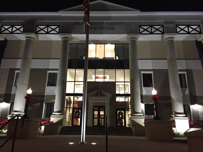 Washington County Courthouse  Chipley  FL