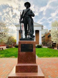 Confederate Monument Winchester VA