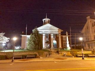 Historic Carroll County Courthouse Hillsville VA