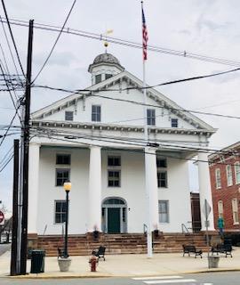 Historic Hunterdon Co. Courthouse  Flemington NJ