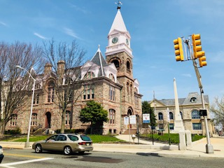 Historic 1885 Gloucester County Courthouse  Woddbury NJ
