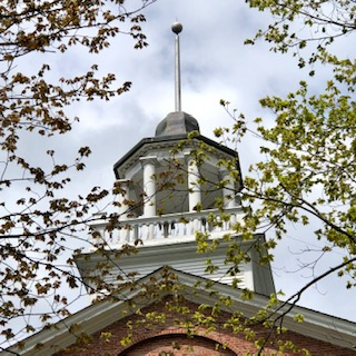 Cupola Lincoln Co. Courthosue  Wiscasset ME