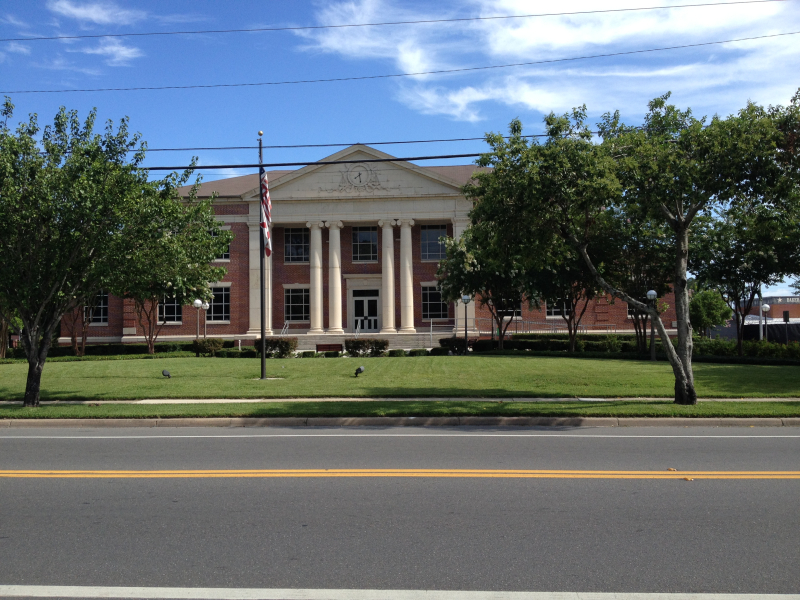 Baker County Courthouse  Mcclenny  FL