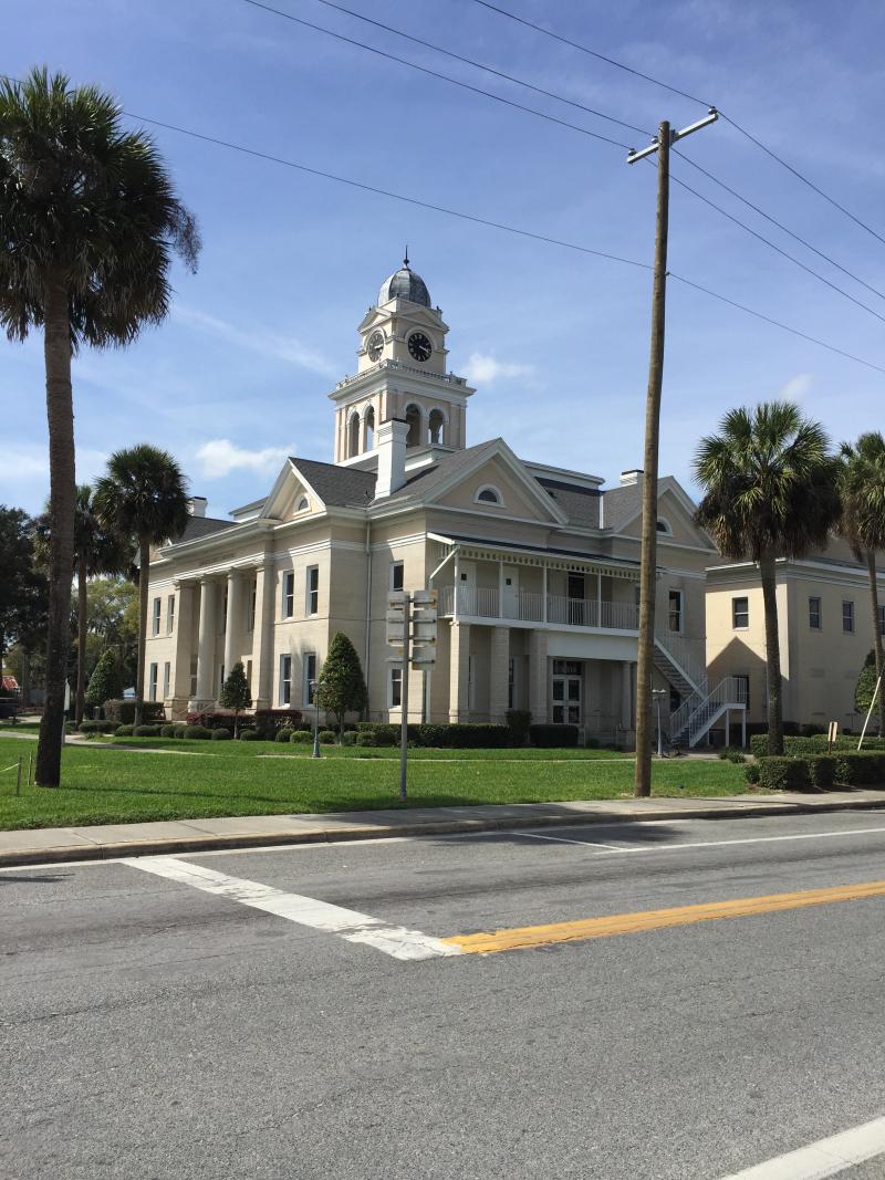 Lafayette County Courthouse  Mayo FL