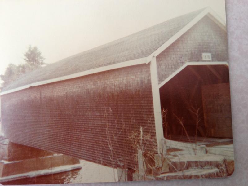 Robyville Bridge  Kenduskeag  Maine