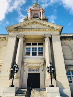 Entryway Cumberland Co. Courthouse Bridgeton NJ