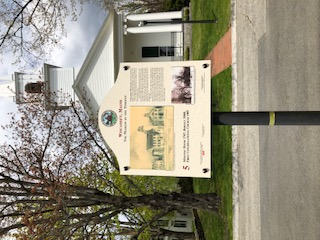 Historic Sign Meetinghouse  Wiscasset ME
