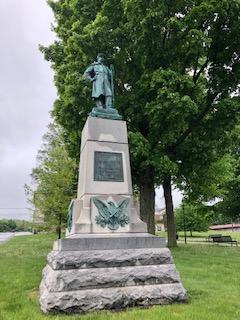 Civil War Monument  Monticello NY