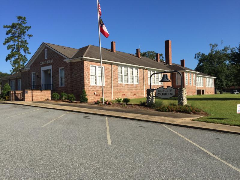 Baker County Courthouse  Newton GA