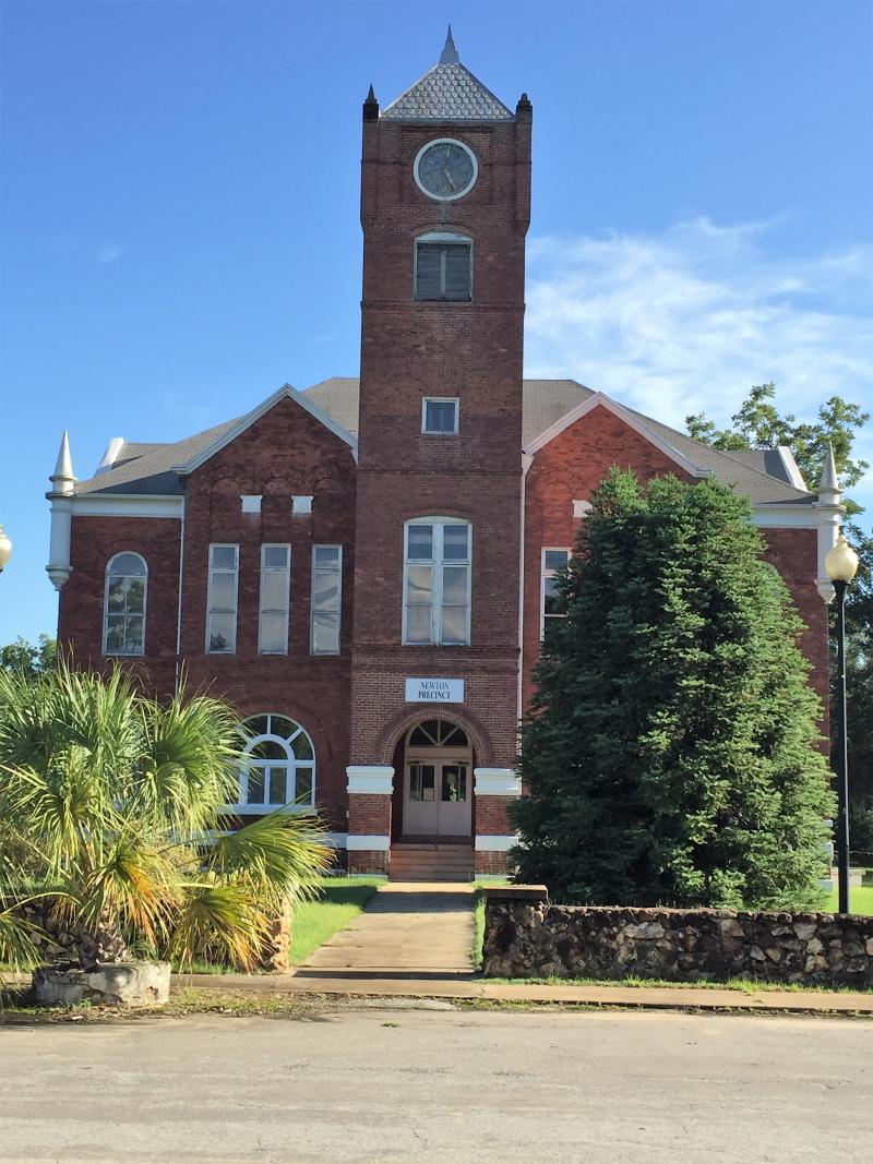 Historic Baker County Courthouse  Newton GA
