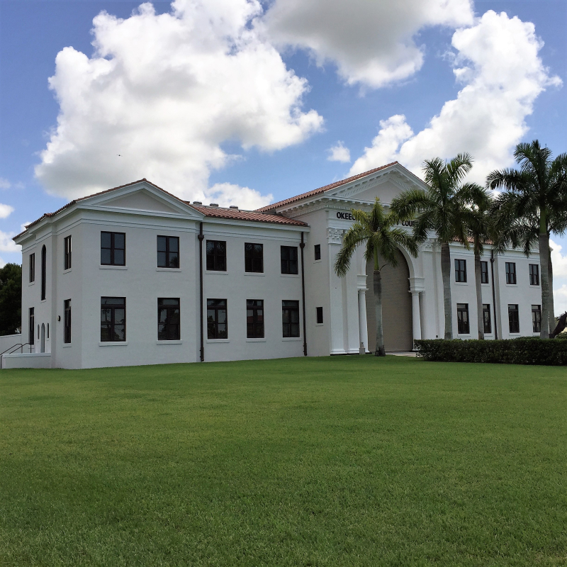 Okeechobee Co. Courthouse (old)  Okeechobee  FL