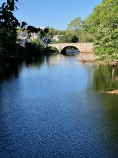 Stone Arch Bridge  Henniker NH