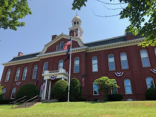 Aroostook Co. Courthouse in Houlton ME