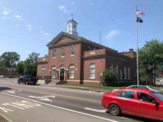 Post Office and Customs House  Houlton ME