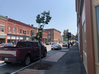 Downtown Houlton Maine