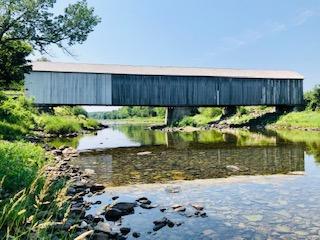 Stream View Watson Settlement Covered Bridge