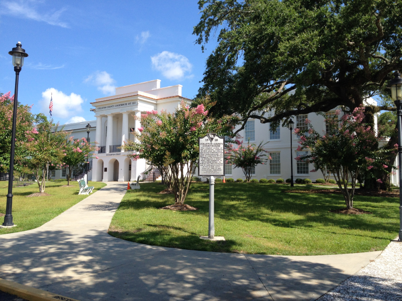 Colleton County Courthouse  Walterboro  SC