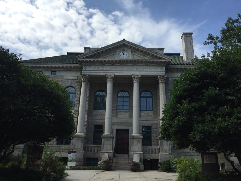 DeKalb County Courthouse    Built 1916  Decatur GA