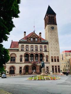 1883 Albany County Courthouse  Albany NY