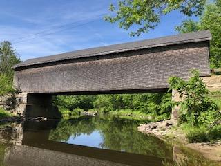 Robyville Covered Bridge  Kenduskeag ME June 2020