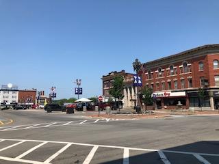 Market Square Downtown Houlton ME